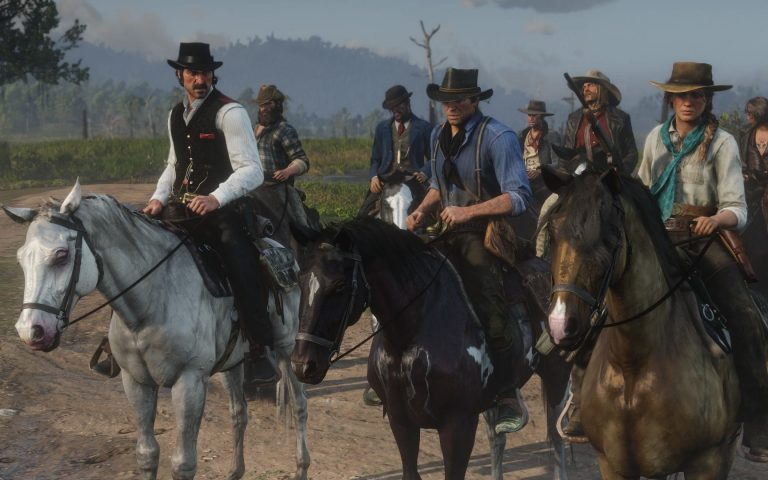 تصویری از پوسترهای تبلیغاتی Red Dead Redemption 2 منتشر شد