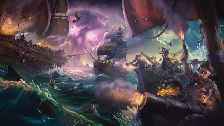 Sea of Thieves از مرز ۵ میلیون کاربر عبور کرد | بهروزرسانی Cursed Sails نیز در دسترس قرار گرفت