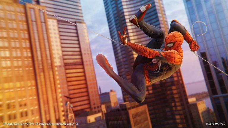 تصاویر جدید از بازی Spider-Man منتشر شد